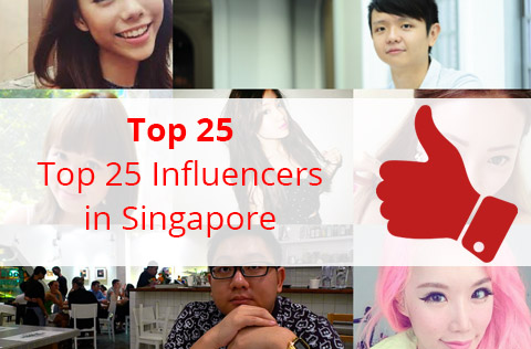 Top 25 Influencers in Singapore which you can engage for your businesses
